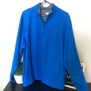 Callaway Partial zip up golf pull over shirt NWT